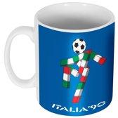 Italia 90 Logo Mok