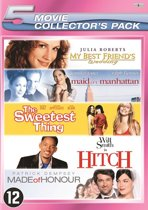 HITCH / MADE OF HONOR / MAID IN MANHATTAN / MY BEST FRIEND'S WEDDING / SWEETEST THING, THE (5 PACK)