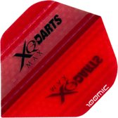 XQ-Max Darts flight ROOD clear