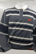 Canterbury L/S Stripe Rugby Shirt Old School S