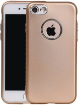 Wicked Narwal | Design backcover hoes voor iPhone 7/8 Goud