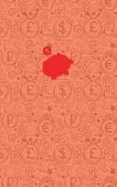 (Red) Smart Piggy Monthly Household Budget Planner, Blank Lined, Write-In, 24 Months Expense Notebook
