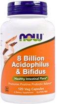 8 Billion Acidophilus and Bifidus 120v-caps