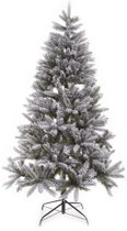 Kerstboom flocked pine mix 210cm