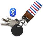 Reptrek® Pochette - Sleutelhanger met bluetooth tracker - Zoek je sleutels, portemonnee of tas met deze keyfinder / sleutelvinder, zwart