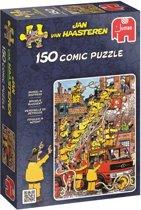 Jan van Haasteren Brandje Blussen - Puzzel 150 Stukjes
