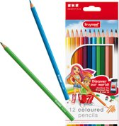 Inspiring Young set 12 kleurpotloden