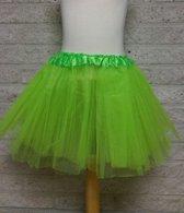Tutu rokje, petticoat kind neon groen
