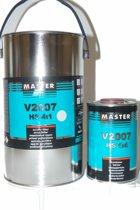Mammoet Coatings - Master Troton V2007 HS Acrylic Grondlak Set 4+1L Grijs