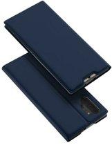 Samsung Galaxy Note 10 Plus hoesje - Dux Ducis Skin Pro Book Case - Blauw