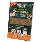 Barbecue en vuurkorf aanmaakblokjes - 28 stuks - bbq aanmaken