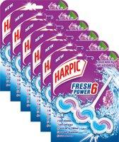 Harpic Wave Lavendel Toiletblok - 6X1st