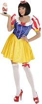Sneeuwwitje Kostuum   Sneeuwwitje Sprookjesboek Prinses Kostuum Vrouw   Small   Carnaval kostuum   Verkleedkleding