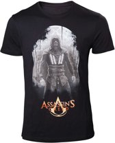 Assassin's Creed - Aguilar heren unisex T-shirt zwart - XL - Games film merchandise