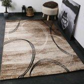 Vloerkleed - 2500 gr per m² - Tibet - Bruin - 6687 - 160x230 cm