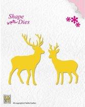 Nellies Choice Shape Mal -  rendier SD035