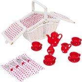 Speelgoed mini picknick set