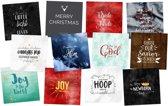 Christelijke Kerstkaarten Deal 4 - Uitverkoop - DagelijkseBroodkruimels