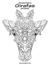 Livro para Colorir de Girafas para Adultos