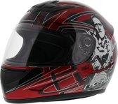 LS2 FF350 Helm Cartoon 2 glans rood