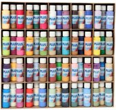 Plus Color acrylverf, 60x60 ml, kleuren assorti