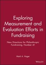 Exploring Measurement and Evaluation Efforts in Fundraising