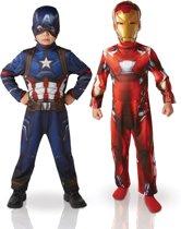 Uitgelezene bol.com   Captain America Volledig Verkleedpak kopen? Kijk snel! ZS-48