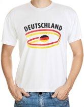 Deutschland t-shirt voor heren L