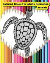 Coloring Books for Adults Relaxation Animals