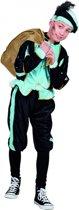 Lichtblauw Pieten kostuum voor kinderen 7-9 jaar - Pietenpak kind
