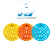 StarBlueDisc Uri-Pad Blauw| Ocean geur 5 stuks