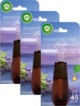 Air Wick Essential Mist Aroma Lavendel Navulling 3 x 20 ml - Voordeelverpakking