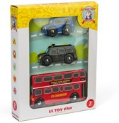 Le Toy Van Speelset Auto's London klein - Hout
