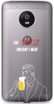 Motorola Moto G5 Plus hoesje Only Present I Need