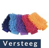 Washandschoen van Versteeg®- Autowashandschoen - 1 stuk - Schoonmaakhandschoen auto