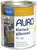 Auro 251 Glanslak Transparant (klik hier voor de inhoud)