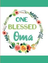 One Blessed Oma