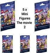 LEGO Minifigures The Movie 2 -  Ontvang 5 stuks 71023  ( 5 stuks GRATIS VERZENDING)