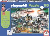 PLAYMOBIL Puzzel pirateneiland 150 stukjes