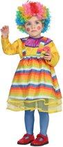 Veelkleurig clown kostuum voor baby's - Verkleedkleding