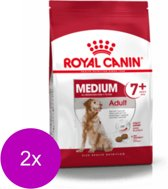 Royal Canin Shn Medium Adult 7plus - Hondenvoer - 2 x 15 kg