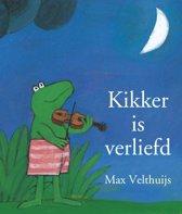 Boek cover Kikker - Kikker is verliefd (mini) van Max Velthuijs (Hardcover)