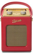 Roberts Radio Revival Mini DAB+ Rood