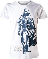 Assassin's Creed IV T-Shirt Wit Edward Maat S