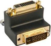 Lindy DVI-I Adapter DVI-I M Zwart