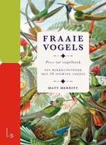 Fraaie Vogels, Press-out boek