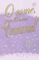 O Come Advent Bulletin (Pkg of 50)