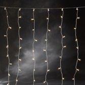 Konstsmide 3705 - Lichtgordijn - 320 lamps gordijn microlight - 200x200 cm - 24V  - voor buiten - warmwit