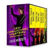 Julie Moffett's Lexi Carmichael Mystery Series Books 1-3