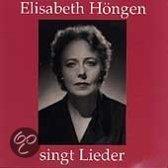 Elisabeth Höngen singt Lieder